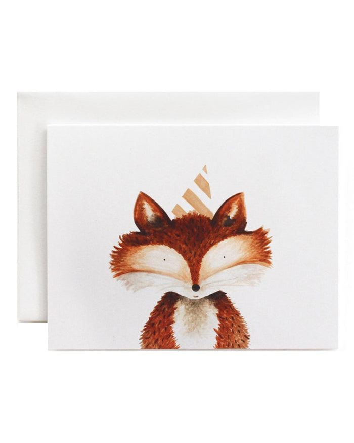 Little eldebery & sons paper+party fox card