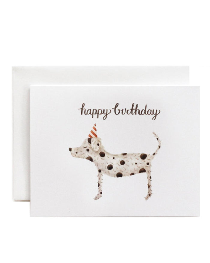 Little eldebery & sons paper+party sparky birthday card