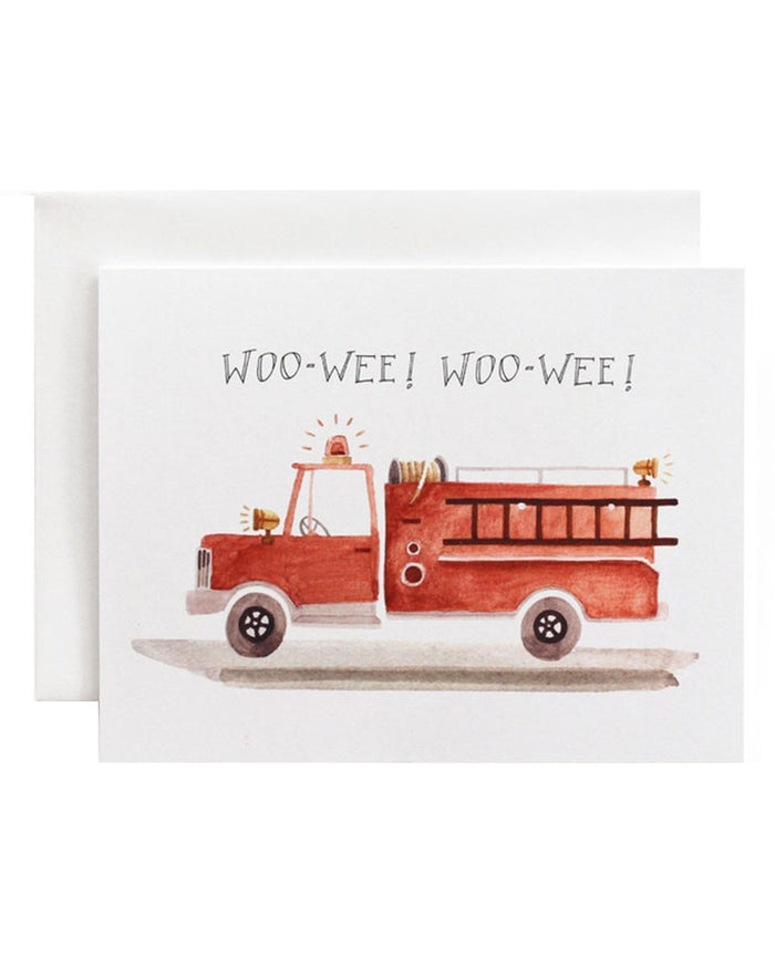 Little eldebery & sons paper+party woo wee card