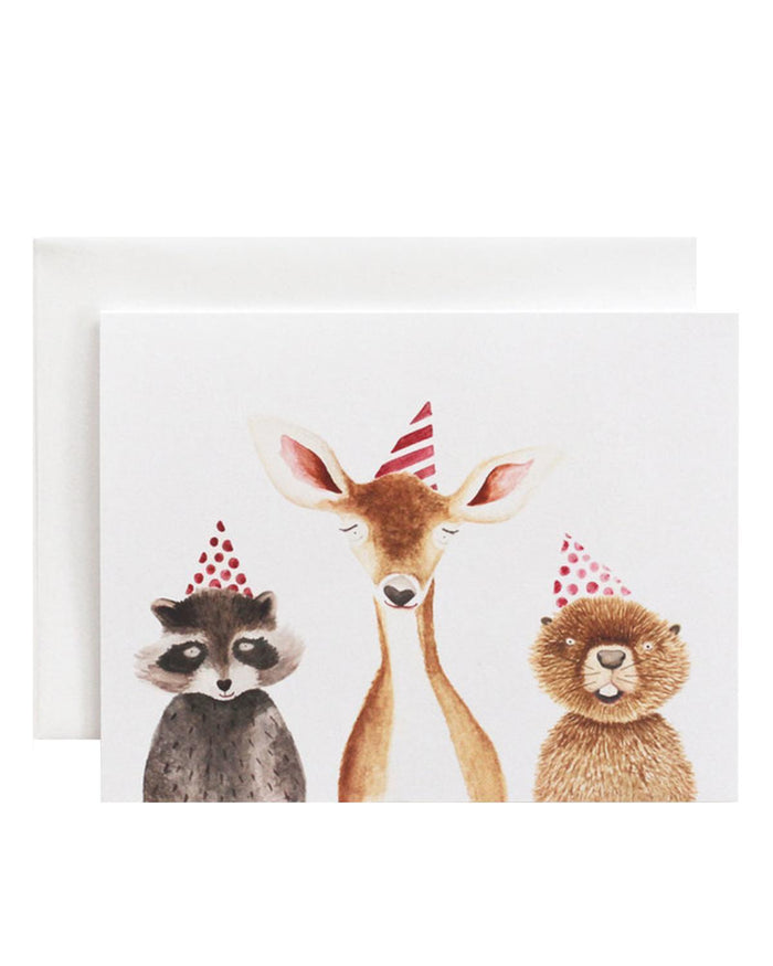 Little eldebery & sons paper+party woodland card for any occasion