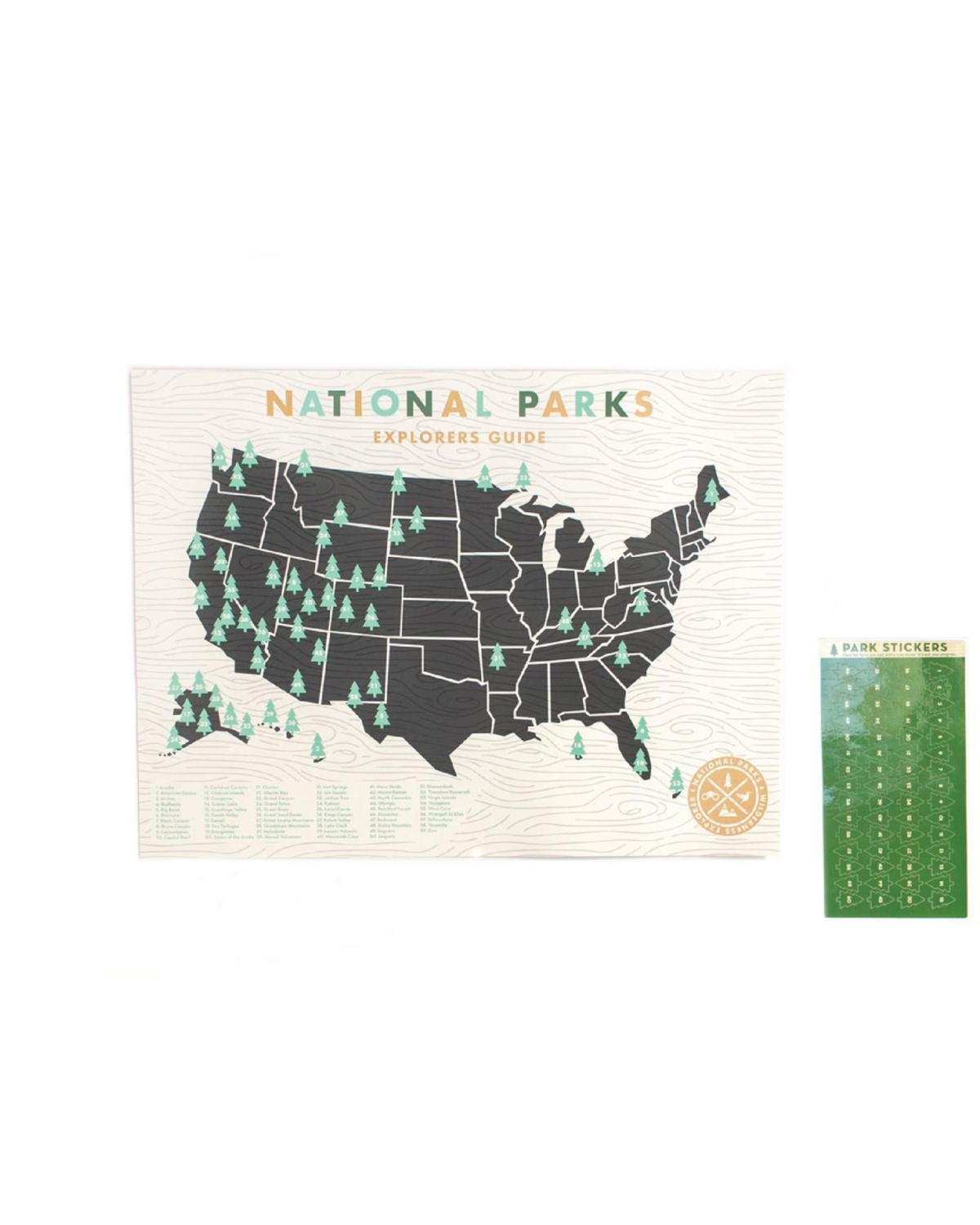Little ello there room National Parks Map Kit