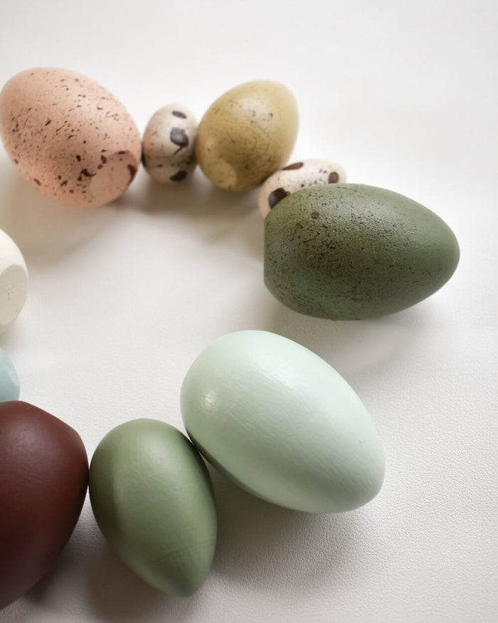 Little elm + otter play edible heirloom play eggs