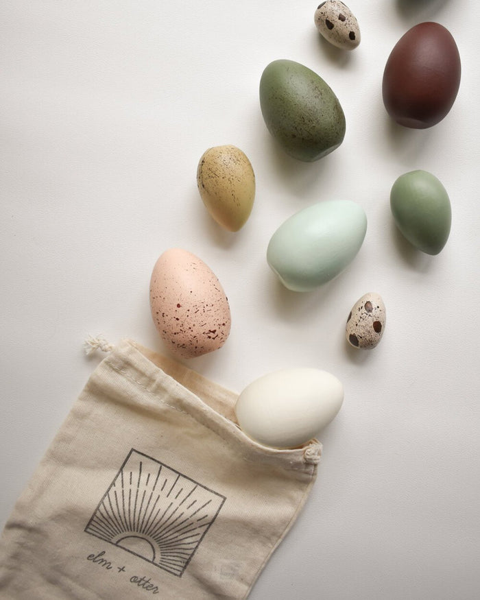 Little elm + otter play heirloom play eggs