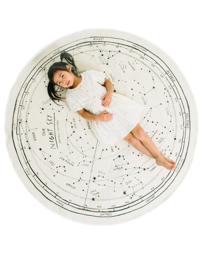 Little gathre play midi mat in constellation circle