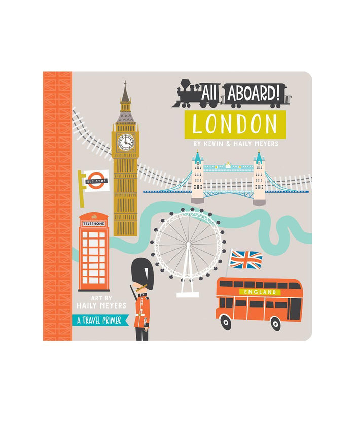Little gibbs smith publisher play All Aboard! London: A Travel Primer