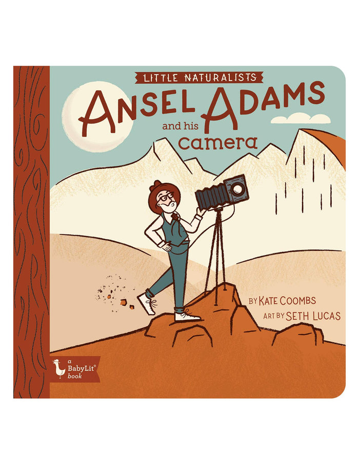 Little gibbs smith publisher play little naturalists: ansel adams and his camera