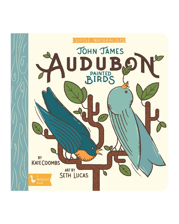 Little gibbs smith publisher play little naturalists: john james audubon painted birds