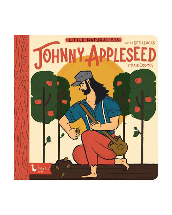 Little gibbs smith publisher play little naturalists: johnny appleseed