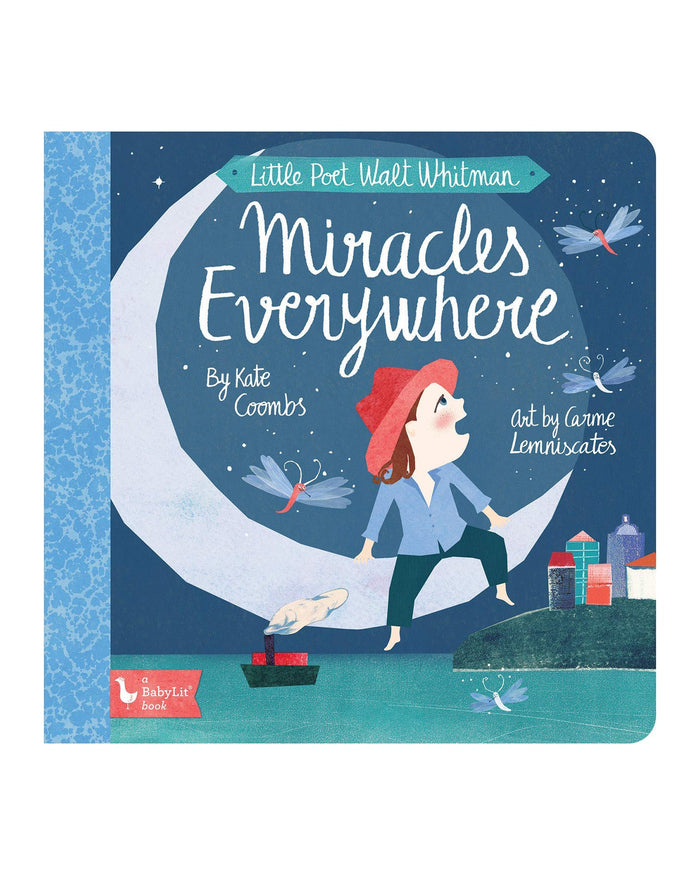 Little gibbs smith publisher play little poet walt whitman: miracles everywhere