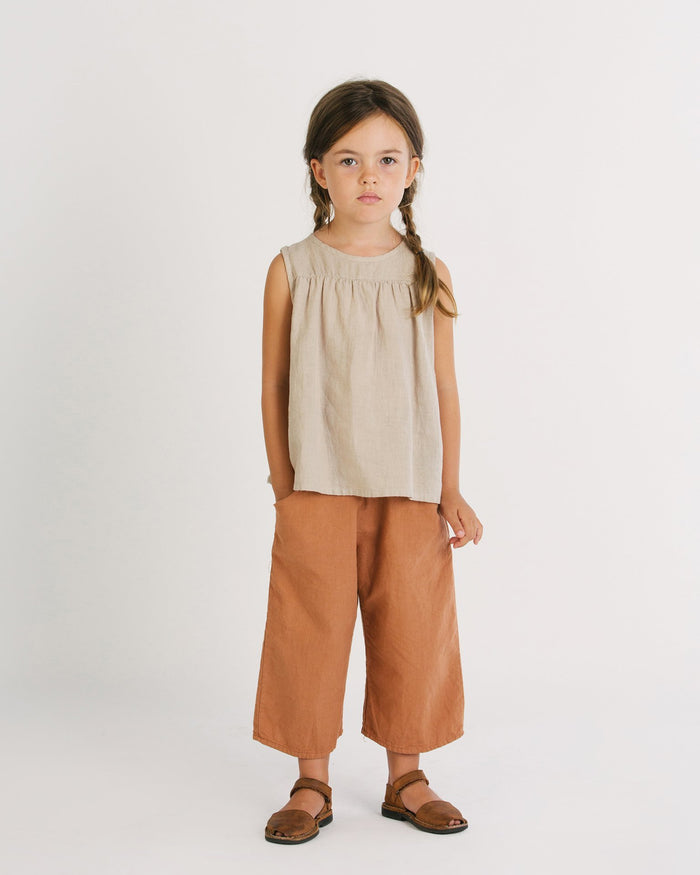 Little go gently nation girl 2 culotte in adobe