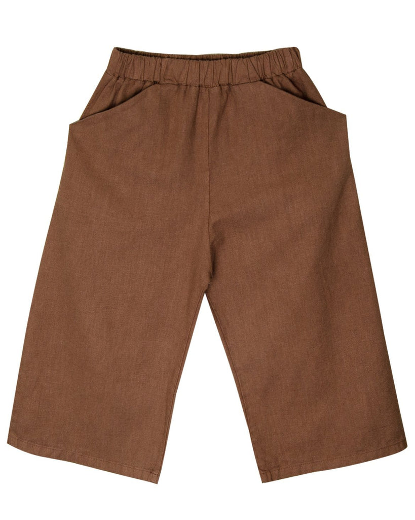 Little go gently nation girl culotte in hazelnut