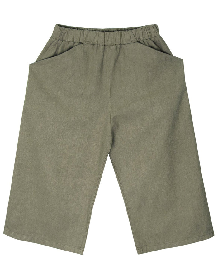 Little go gently nation girl culotte in thyme