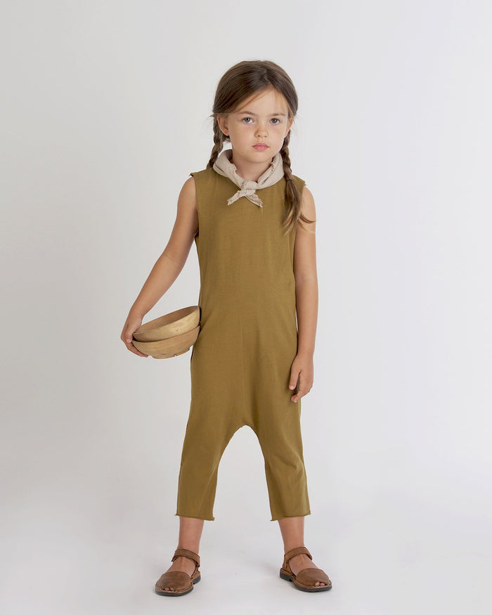 Little go gently nation girl 2 jersey day suit in fennel