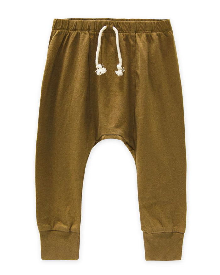 Little go gently nation boy 2 jersey harem pant in fennel