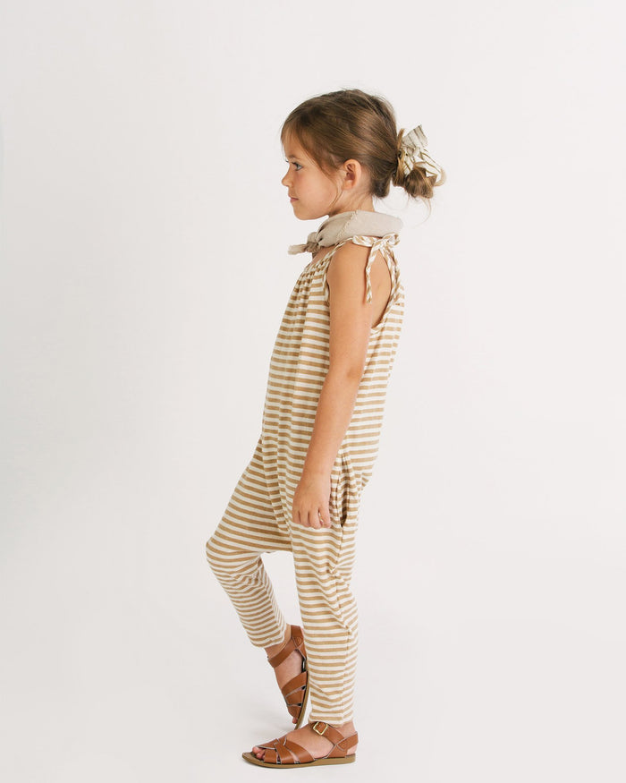 Little go gently nation girl 3-6 jersey jumpsuit