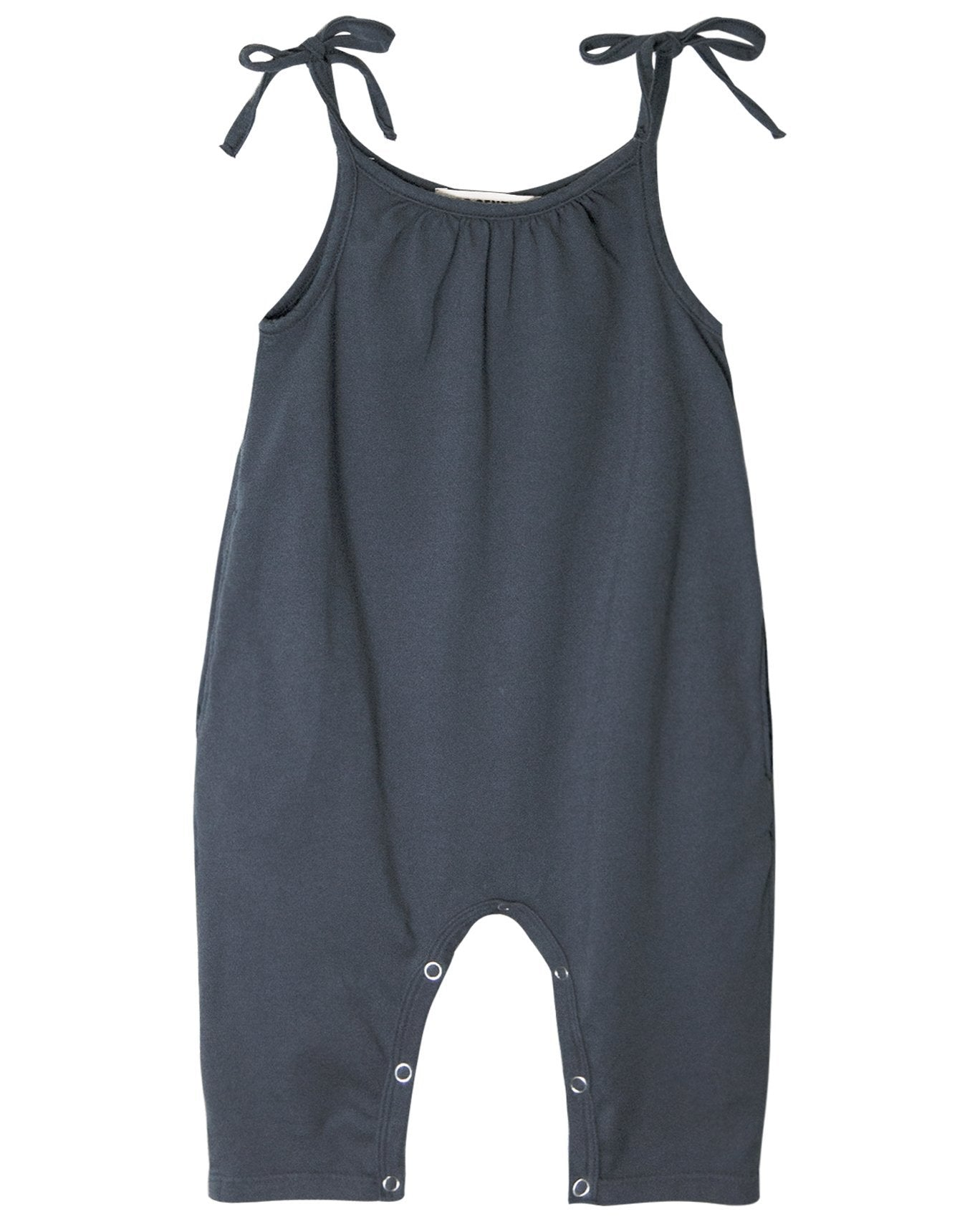 Little go gently nation girl jersey jumpsuit in indigo