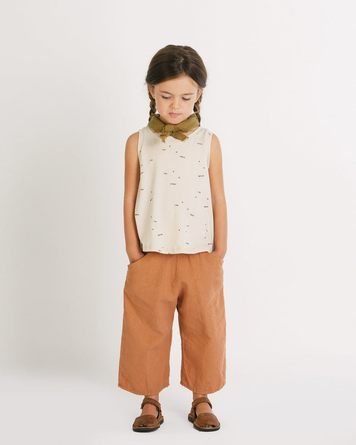 Little go gently nation accessories neckerchief in fennel