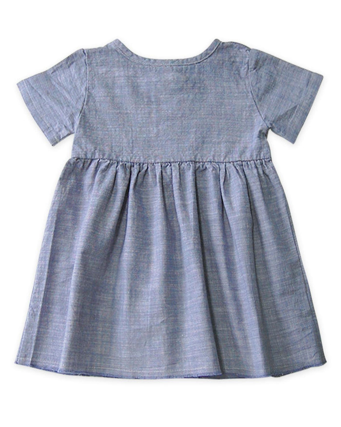 Little go gently nation girl 2 short sleeve prairie dress