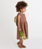Little go gently nation girl sleeveless prairie dress in hazelnut