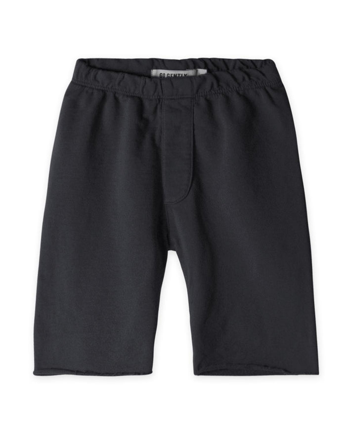 Little go gently nation boy 2 trouser short in charcoal