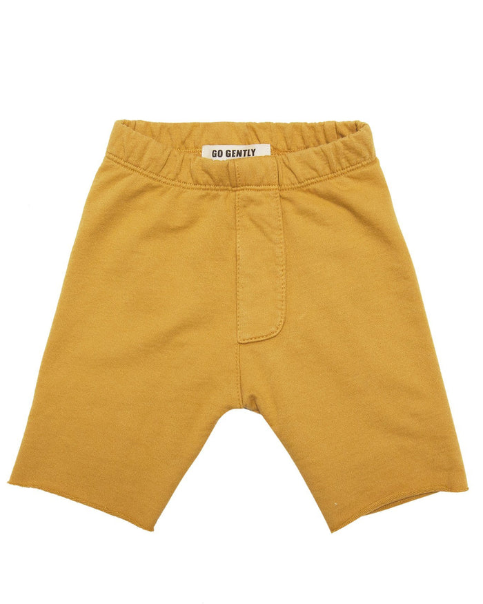 Little go gently nation girl trouser short in golden