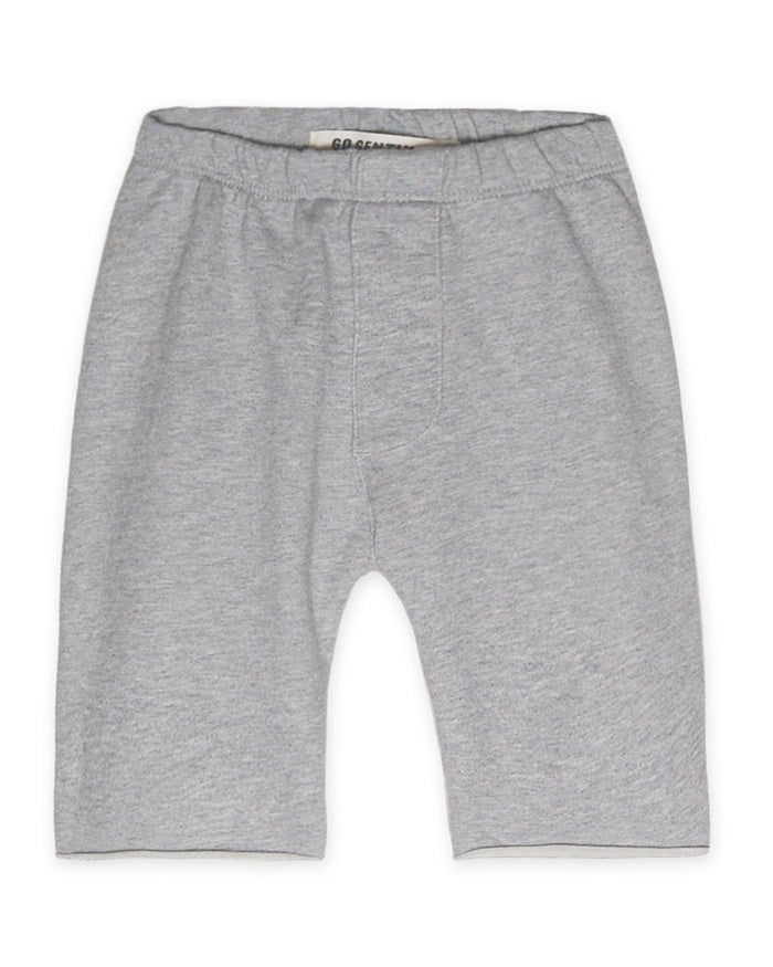 Little go gently nation boy 2 trouser short in heather grey