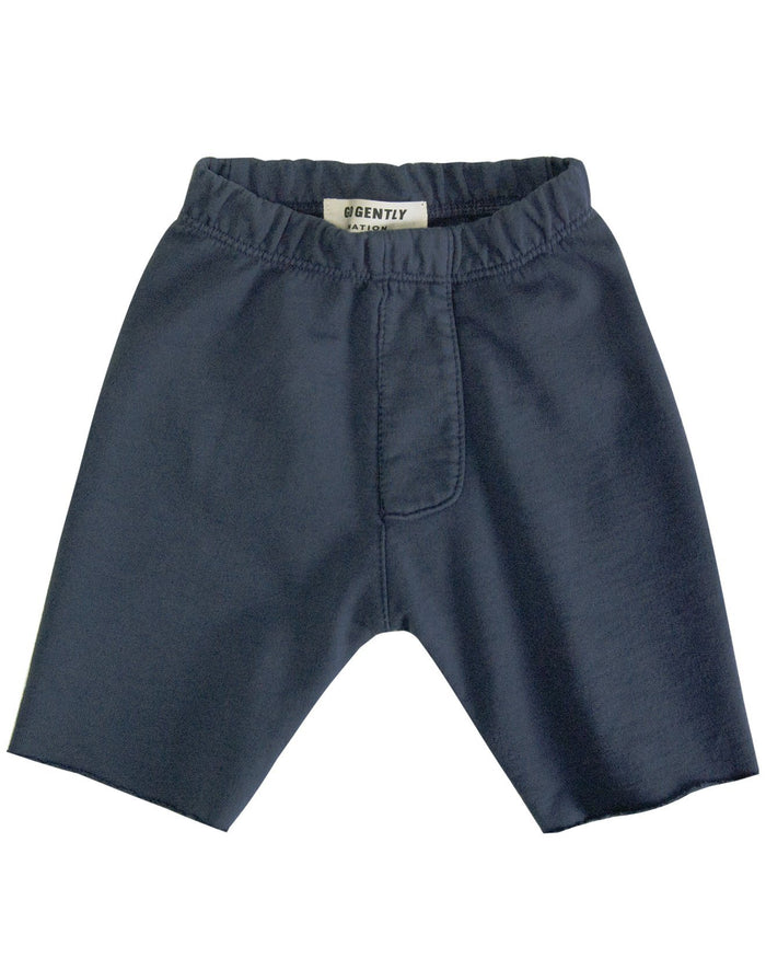 Little go gently nation girl trouser short in indigo