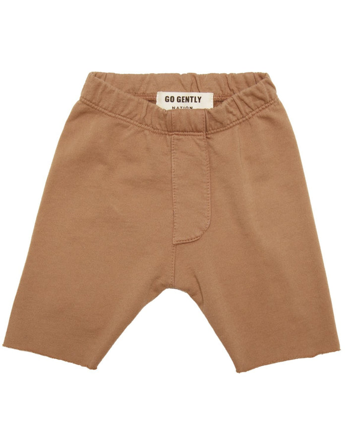 Little go gently nation girl trouser short in tanin
