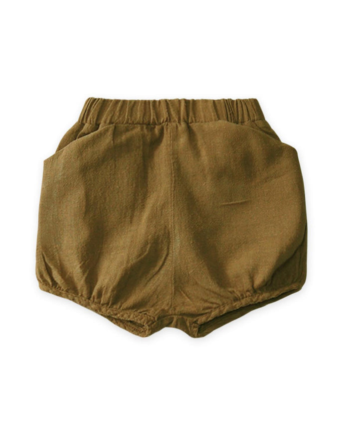 Little go gently nation girl 2 woven short in fennel