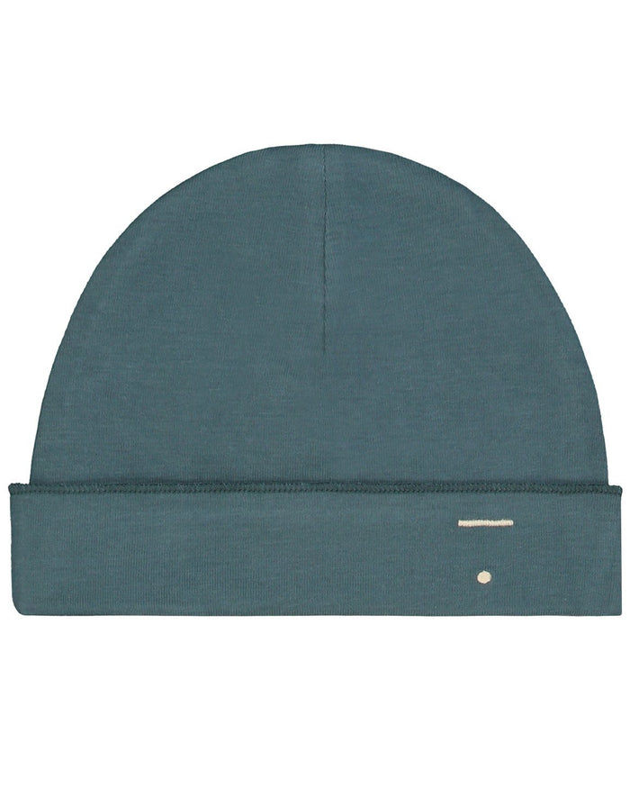 Little gray label baby accessories baby beanie in blue grey