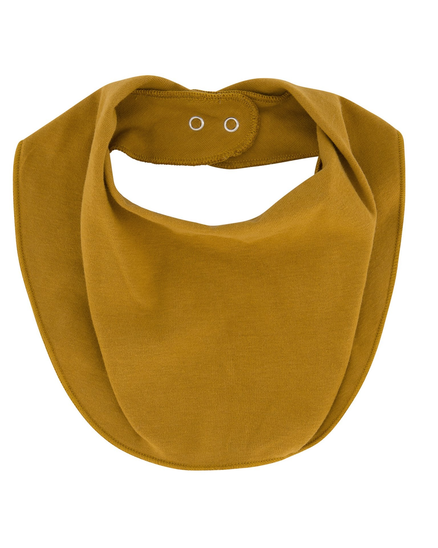 Little gray label baby accessories one size baby bib in mustard