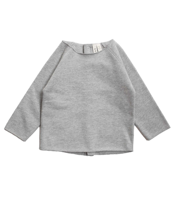 Little gray label layette 0-3 Baby Jumper in Grey Melange