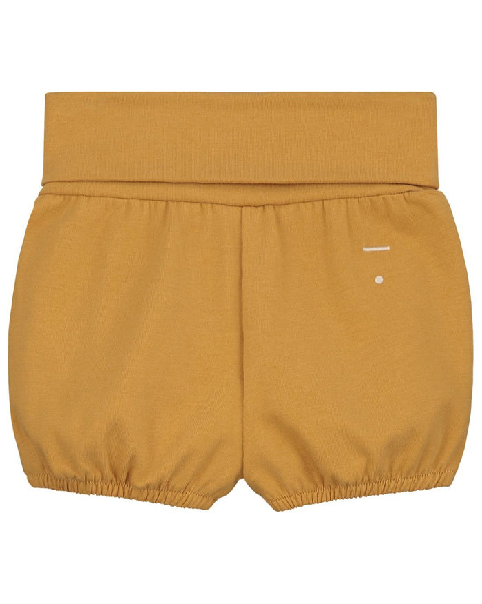 Little gray label baby boy baby relaxed bloomer in mustard