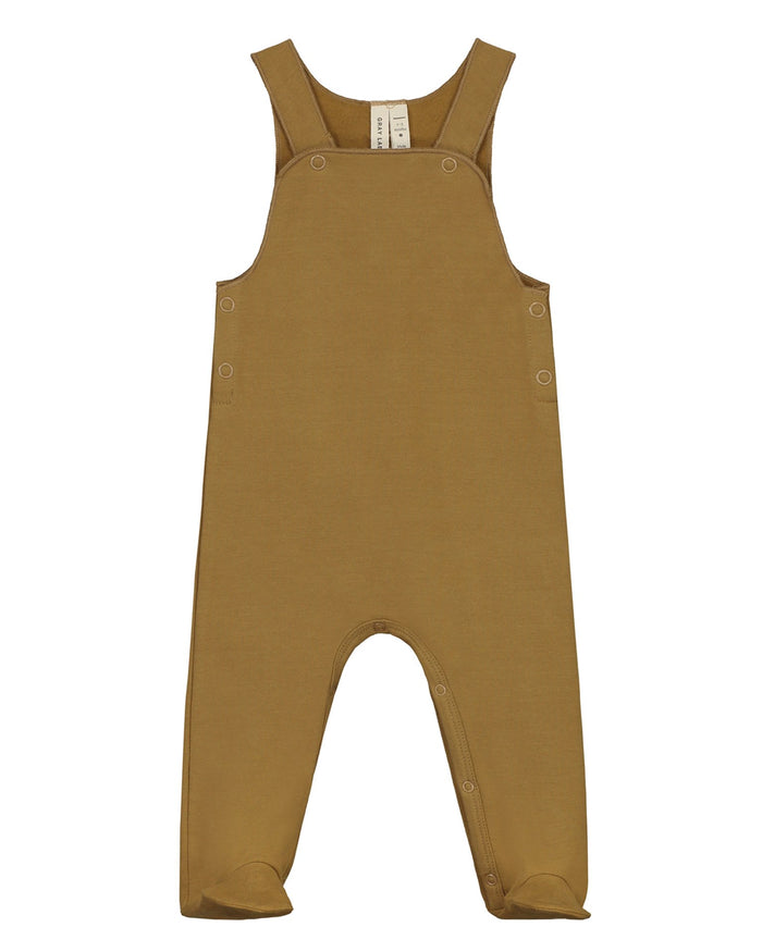 Little gray label baby girl baby sleeveless suit in peanut