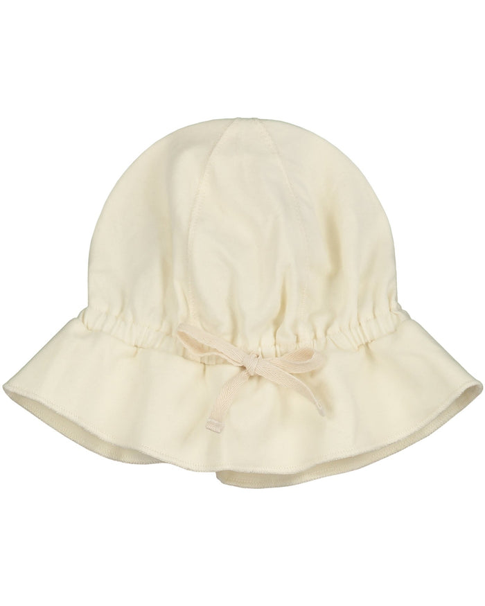Little gray label baby accessories baby sun hat in cream