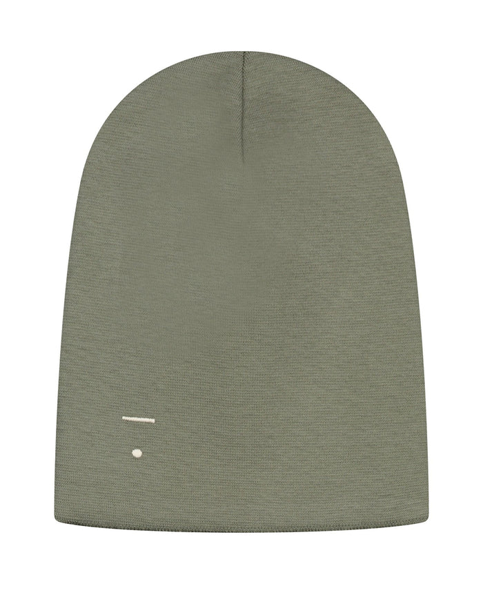 Little gray label accessories beanie in moss