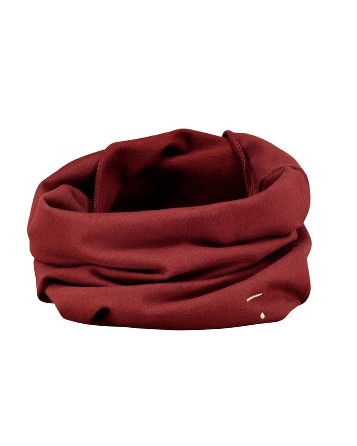 Little gray label accessories Endless Scarf in Burgandy