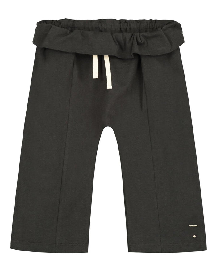 Little gray label boy 12-18 fisherman trousers in nearly black