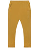 Little gray label boy relaxed pocket trousers in mustard
