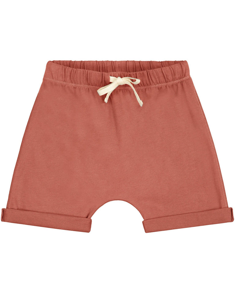 Little gray label boy shorts in faded red