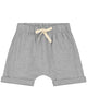 Little gray label boy shorts in grey melange