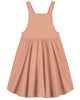 Little gray label girl sun dress in rustic clay