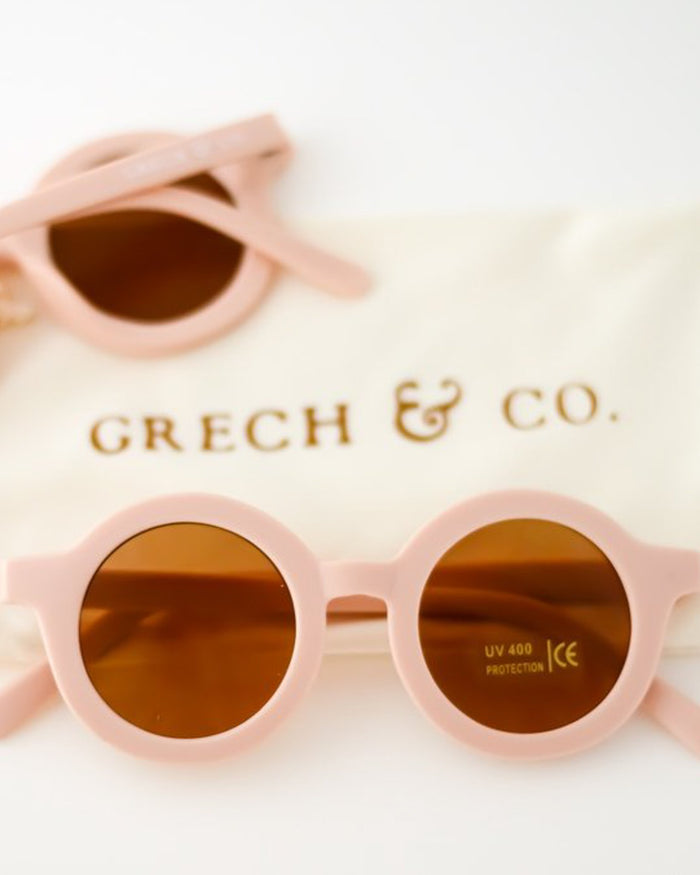 Little grech + co accessories sustainable sunglasses in shell