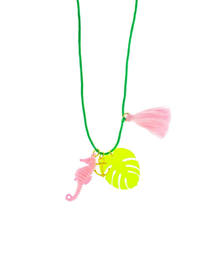Little gunner + lux accessories Beach Life Necklace