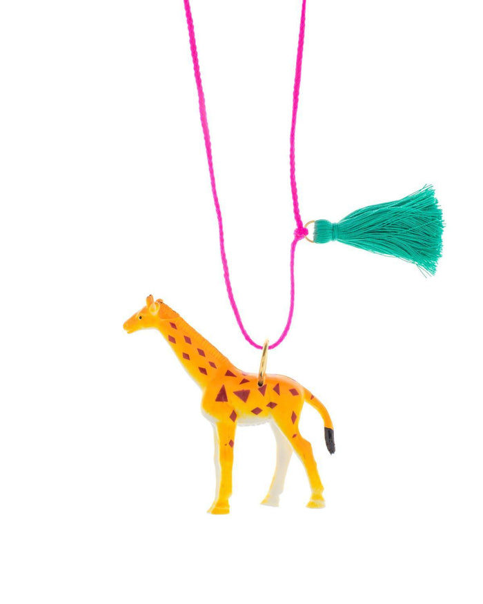 Little gunner + lux accessories Giraffe Necklace