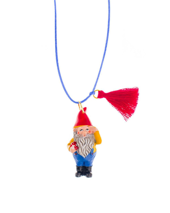 Little gunner + lux accessories Gnome Necklace
