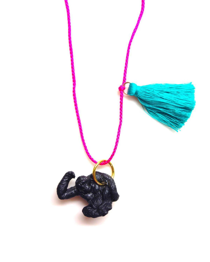 Little gunner + lux accessories Gorilla Necklace