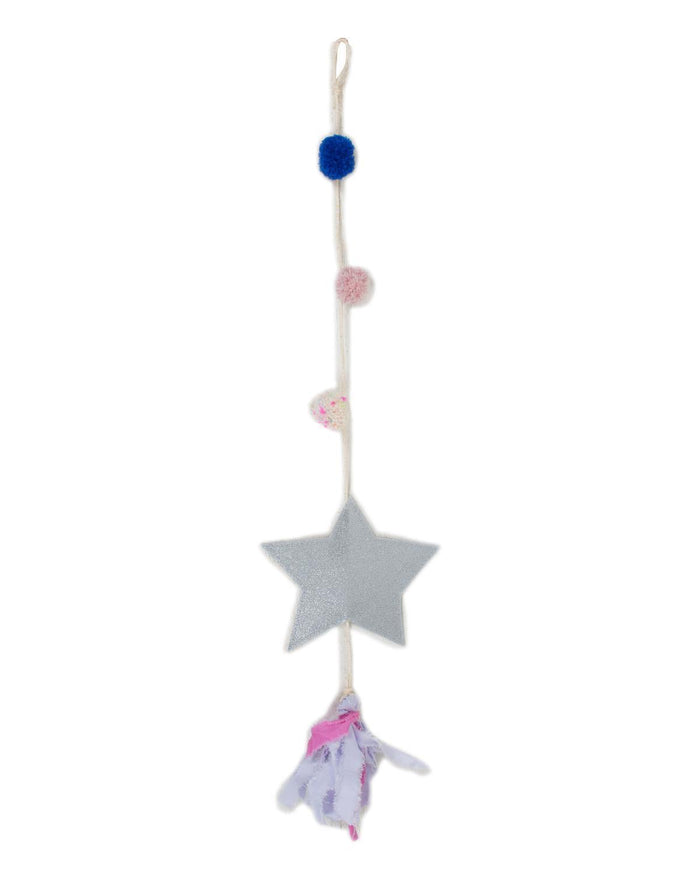 Little h-luv room Large Falling Star in Silver