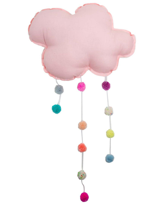 Little h-luv room large pom pom cloud in blush