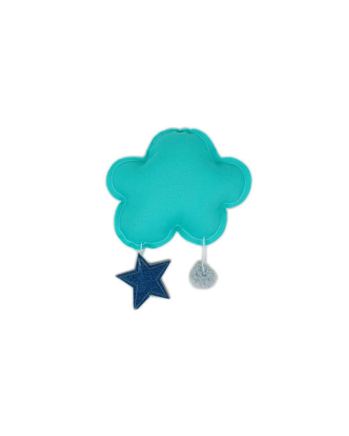 Little h-luv room Tiny Star Cloud in Turquoise